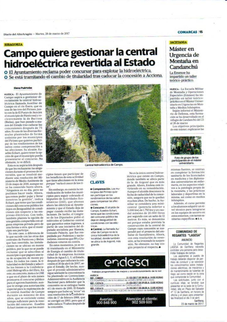 Central de Campo